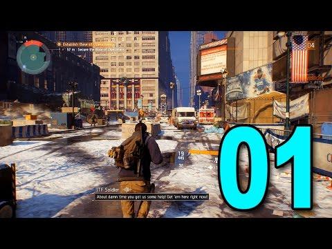 The Division Beta - Part 1 - Outbreak (Let's Play / Walkthrough / Playthrough)