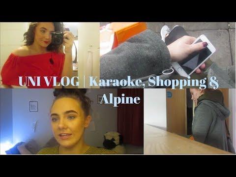 Uni Vlog   Karaoke, Dance and Shopping   LUCY ANN