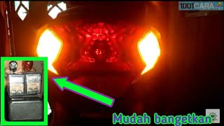 Video Cara membuat lampu sein dan rem berkedip flip flop modal Rp.3400 download MP3, 3GP, MP4, WEBM, AVI, FLV September 2018