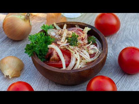 ???? Türkischer Zwiebelsalat