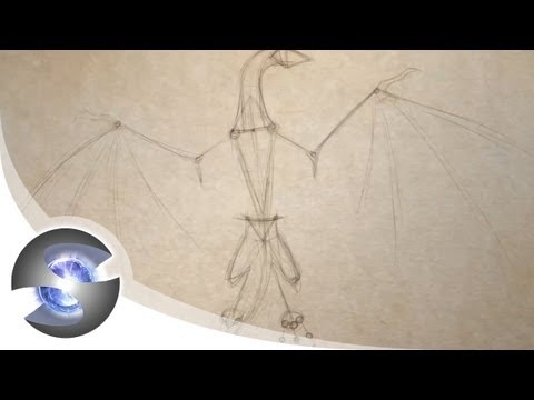 How to Draw a Dragon Part 1 of 5 - Basic Construction