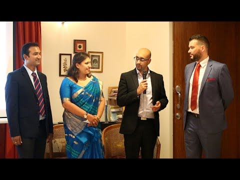 JBrown Launch Event at British Deputy High Commissioner's Residence - Bangalore