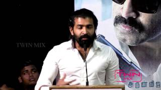 Kuttram 23 Press meet - Arun Vijay, Mahima Nambiar & Arivazhagan speech