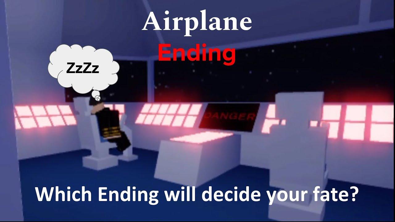 Roblox Airplane Story Endings - Roblox Airplane Ending