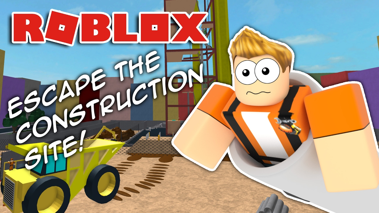 Escape The Construction Site Obby Roblox Youtube