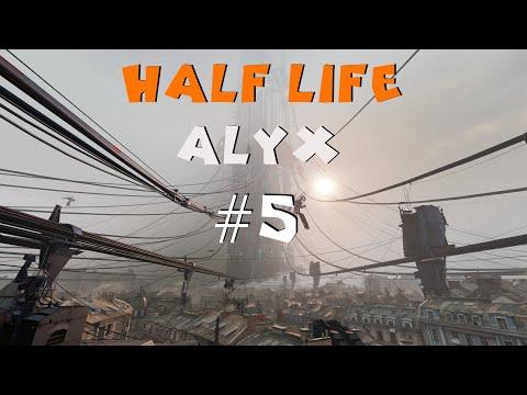 HALF LIFE Alyx PL, Odcinek #5 - Latarka, Gra VR Valve Index