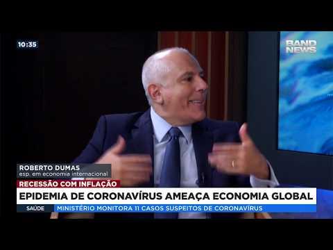 Epidemia do coronavírus ameaça a economia global