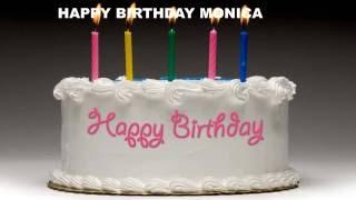 Monica - Cakes Pasteles - Happy Birthday