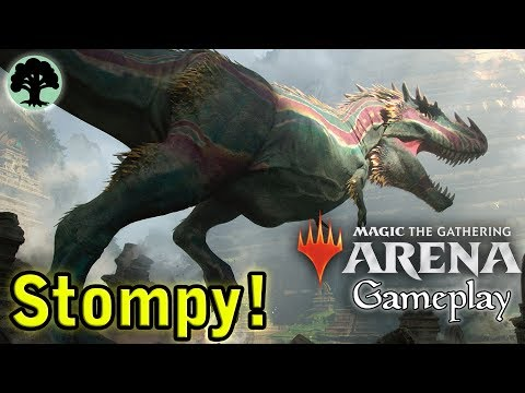 Magic Arena | Mono-Green Stompy!