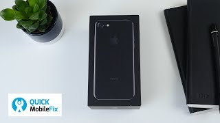 Unboxing a refurbished iPhone 7 - Is it like new?