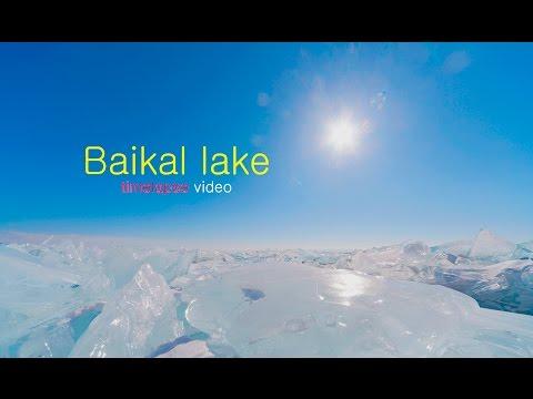 Russia. Siberia. Trip to winter Baikal lake/ Timelapse