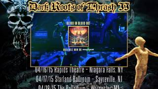 TESTAMENT - Dark Roots of Thrash II Tour w/ EXODUS, SHATTERED SUN