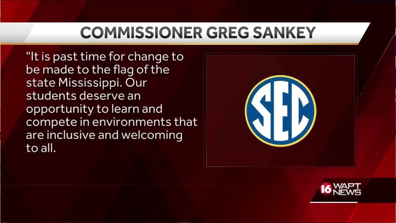 SEC Commissioner: 'It is past time for change to be made to the flag ...
