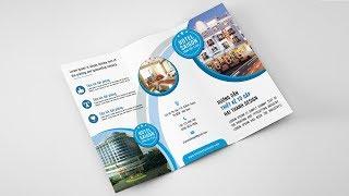 Hướng dẫn thiết kế tờ gập 3 bằng Photoshop | Thietkehaithanh