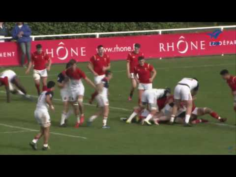 Wales U18 vs France u18 19th March 2017 Highlights