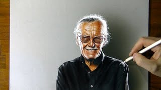 Drawing Stan Lee