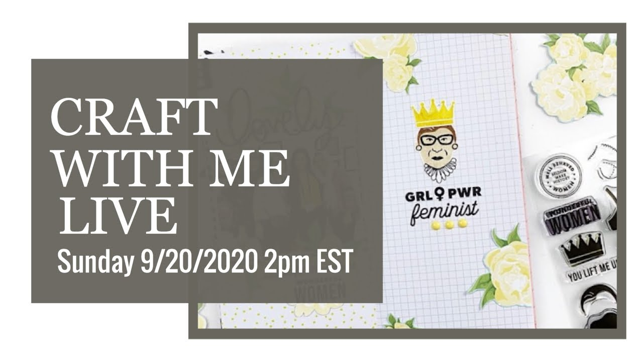🔴 Live Craft With Me | Traveler's Notebook 2020