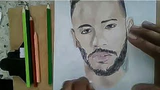 Neymar jr speed art