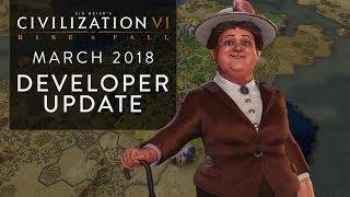 Video Civilization VI: Rise and Fall – March 2018 Developer Update download MP3, 3GP, MP4, WEBM, AVI, FLV Maret 2018
