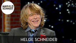 Helge Schneider: Warum er seine Show im WDR aufgegeben hat | Die Harald Schmidt Show (SKY)