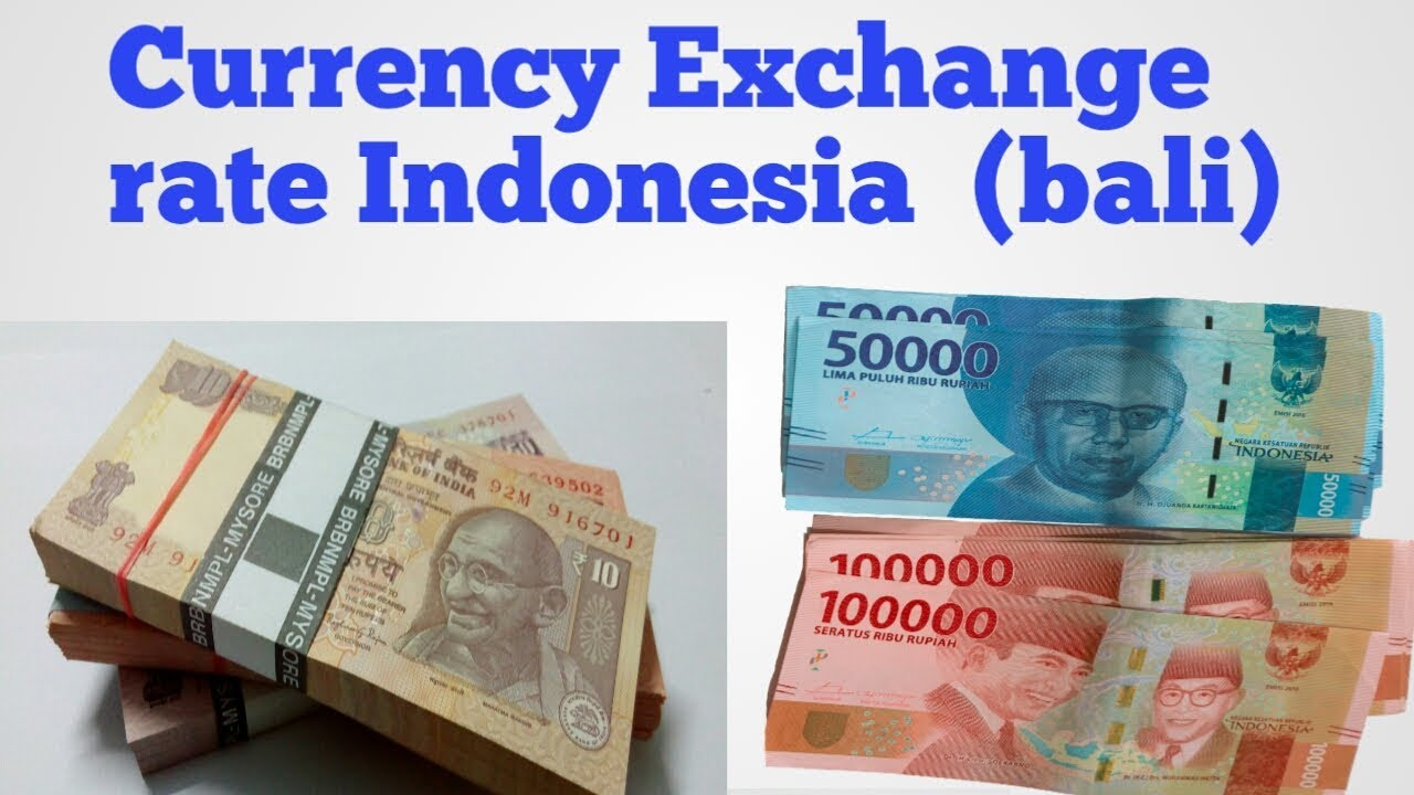 Bali Currency To Inr Indonesia