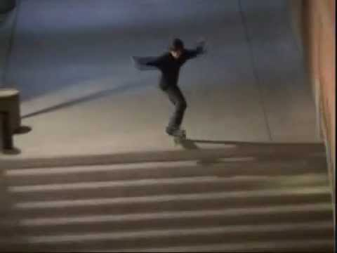 Kevin Spanky Long by big ollie and frontside 180 ollie