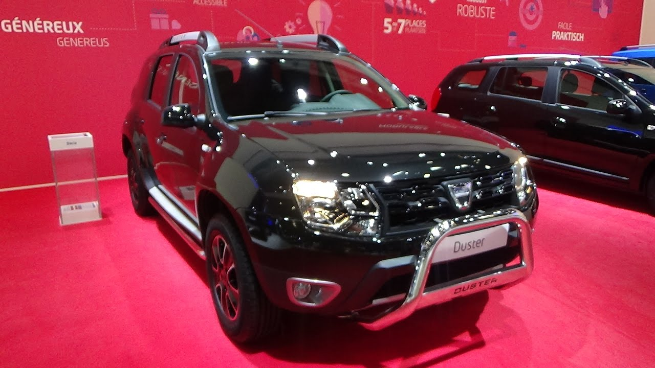 2017 dacia duster black shadow exterior and interior