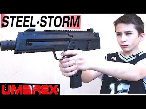 Umarex Steel Storm Air Pistol with Robert-Andre!