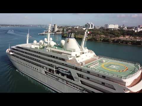 Oman's Fulk Al Salamah Yacht arrives in Mombasa