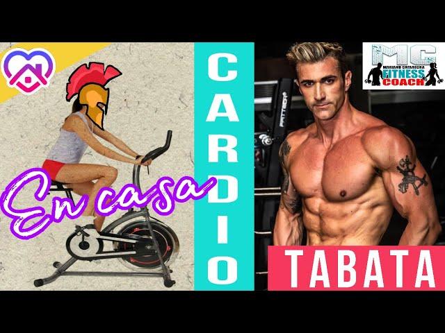 ENTRENAMIENTO EN CASA: CARDIO TABATA BICI!! FULL BODY