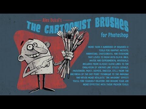 AD Cartoonist Brushes v1.3 - Samples 2016