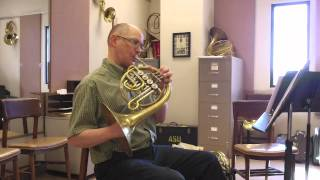 On Descant and Triple Horns -- Horn Notes Edition