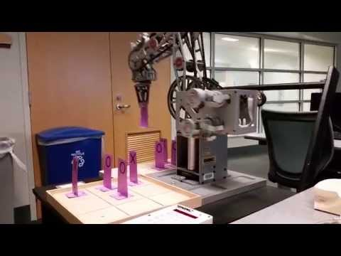 Robot Arm plays Tic-Tac-Toe:  Capstone Project, Software Engineering Technology, Cincinnati State