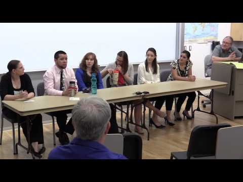 Masters of Arts Panel Discussion 20150515