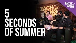 For More Interviews, Subscribe ▻▻ http://bit.ly/29PqCNm 5 Seconds of Summer stopped by the studio to chat with us about their new sound, how One Direction ...