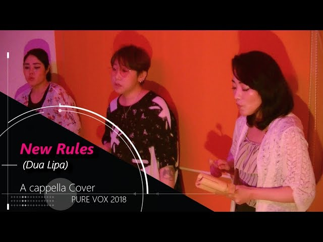 【洋楽カバー アカペラ】Dua Lipa - New Rules/A cappella Cover
