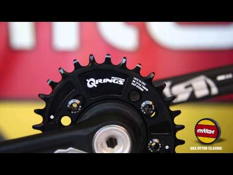Rotor Bike Components Rex Cranks and QX1 Chainring 2014