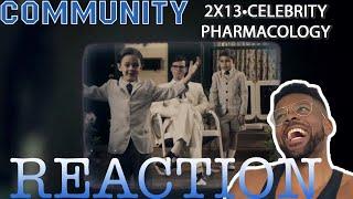 Community REACTION 2x13 Celebrity Pharmacology | Catching Up