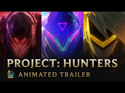 The Hunt | PROJECT Hunters Animated Trailer - League of Legends