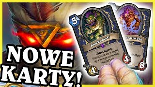 NOWE KARTY Z RISE OF SHADOWS! - Hearthstone Extra