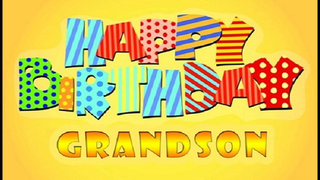 Best Birthday Wishes For Grandson