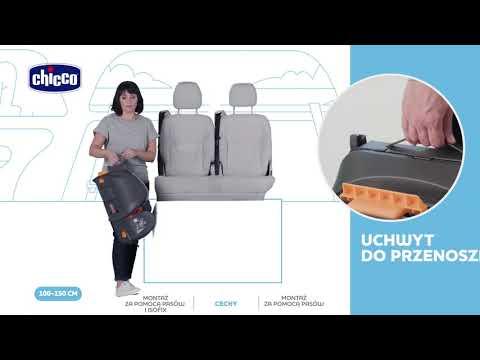 Fotelik Samochodowy Fold&Go I - SIZE (wzrost 100-150 Cm) - Chicco (Polski)