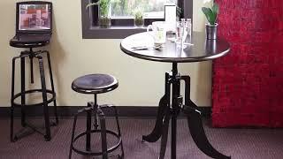 OFM Endure Series Adjustable Height work stools