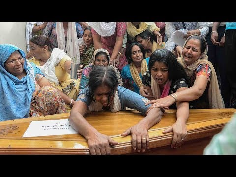 Bodies of 38 Indian workers killed by ISIL arrive home from Iraq