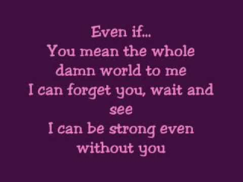 EVEN IF BY LEA SALONGA