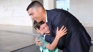 Mais um grande gesto do Cristiano Ronaldo com um fã!