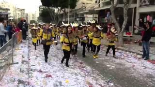видео Карнавал в Лимассоле Февраль 2012