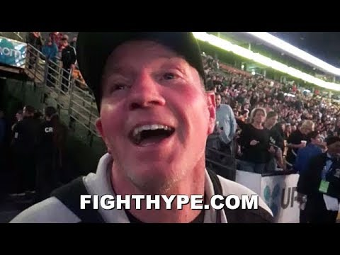 MICKY WARD'S FAVORITE FIGHTER TODAY SHOULD BE NO SURPRISE; REACTS TO PACQUIAO VS. BRONER