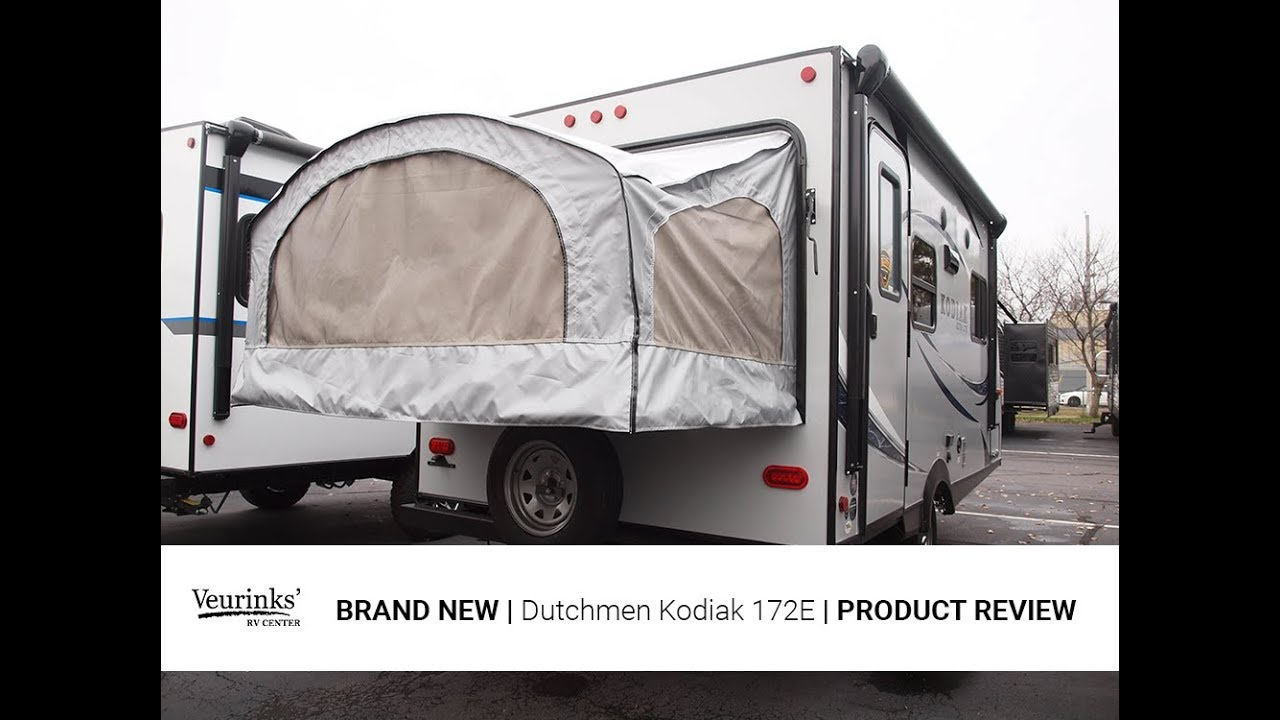 2018 Kodiak Travel Trailers Floor Plans 2018 Dutchmen Kodiak 172e Expandable Travel Trailer Veurinks Rv Center