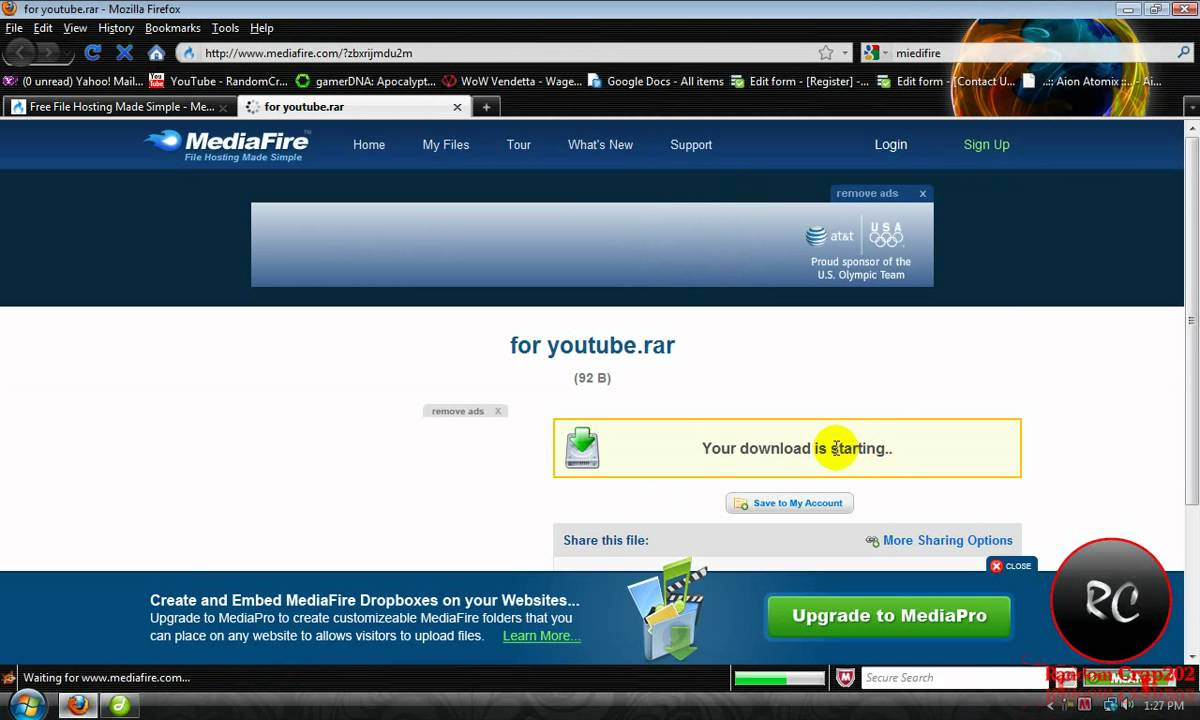 How to put a direct download link on your website